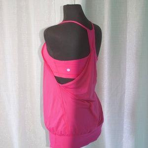 lululemon athletica Tops - No limits Hot Pink Tank Top * Lululemon